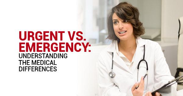 emergency vs non-emergency